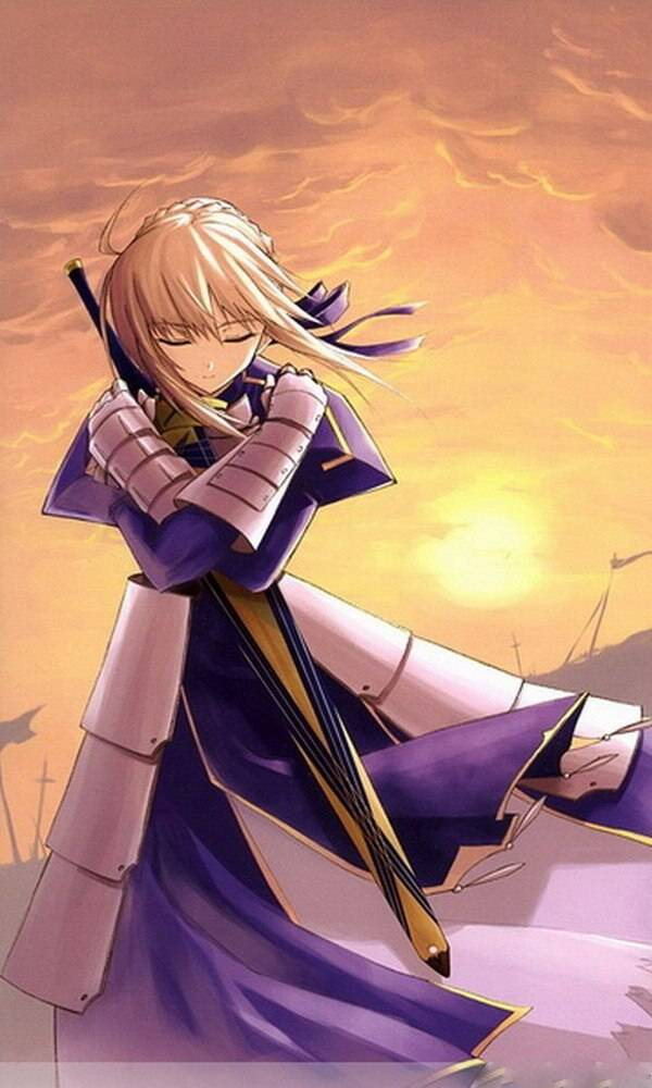 Fate Stay Night Anime Saber 120x200cm Single-layer Blanket 36756