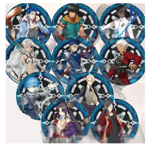1pcs 58mm anime fate stay night fate grand order lancer bagdes for anime fans badge brooch