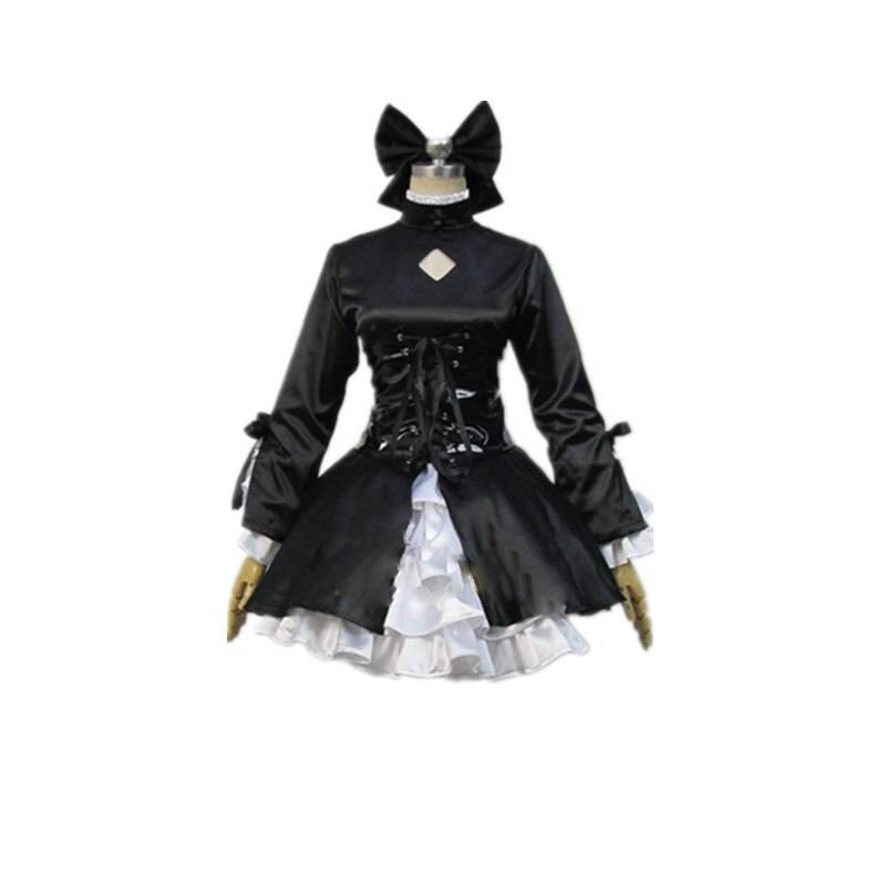 Fate Stay Night Hollow Dark Saber Cosplay Costume