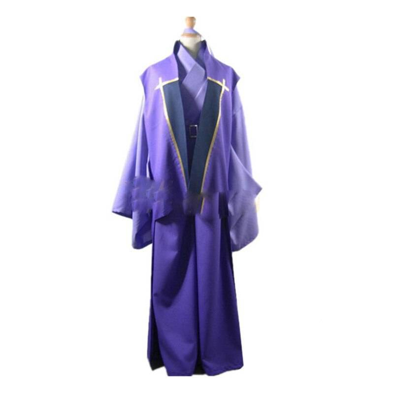 Anime Fate Stay Night Assassin Kimono Cosplay Costume Halloween Carnival Costumes Custom Made Any Size