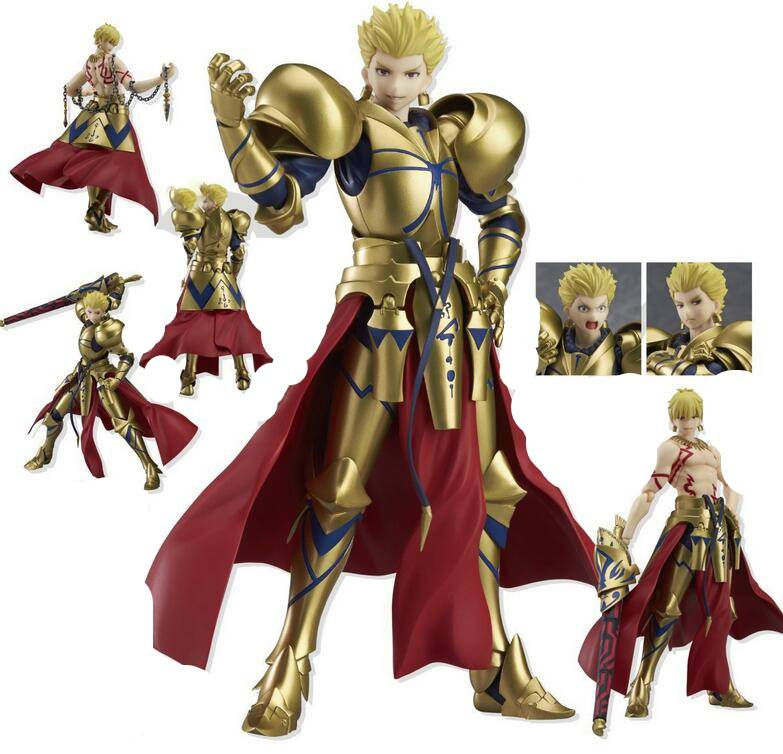 15cm Fate Stay Night Archer Gilgamesh Figma 300 Action Figure Pvc Toys Collection Anime Cartoon Model Collectible