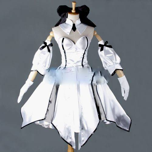 Saber Lily Cosplay Costum From Fate Stay Night Anime Clothing Christmas