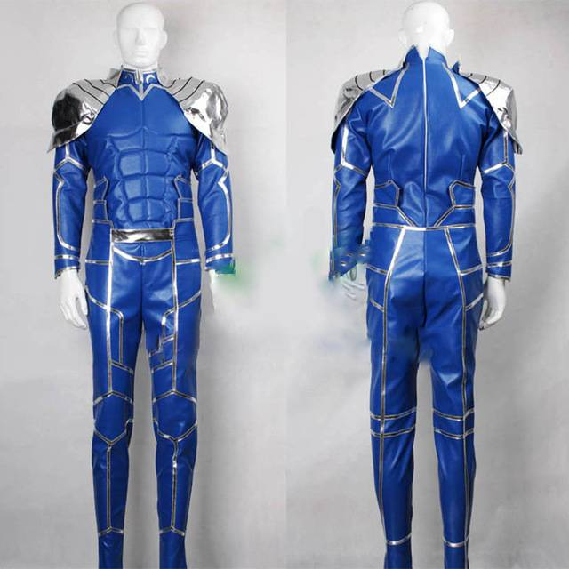 Anime Fate Extra Stay Night Lancer Uniform Set For Adult Women Comic Con Party Halloween Cosplay Costume