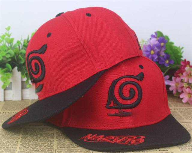 Cosplay Baseball Cap Hat Naruto One Piece Fairy Tail Headwear Unisex Anime Game Costume Accessories