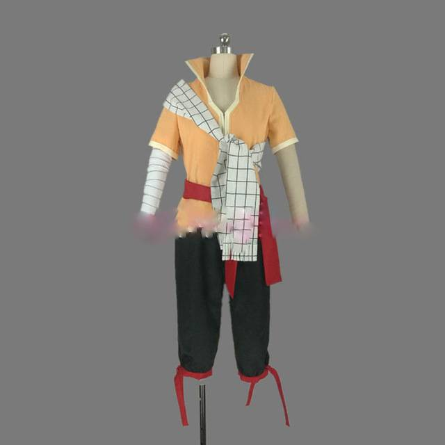 Fairy Tail Dragon Cry Natsu Dragneel Cosplay Costume Stock Cusotm Made For Halloween Christmas Cosplaylove