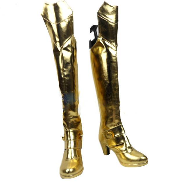 Fate Stay Night Extra Ccc Saber Nero Cosplay Boots Custom Made Shoes