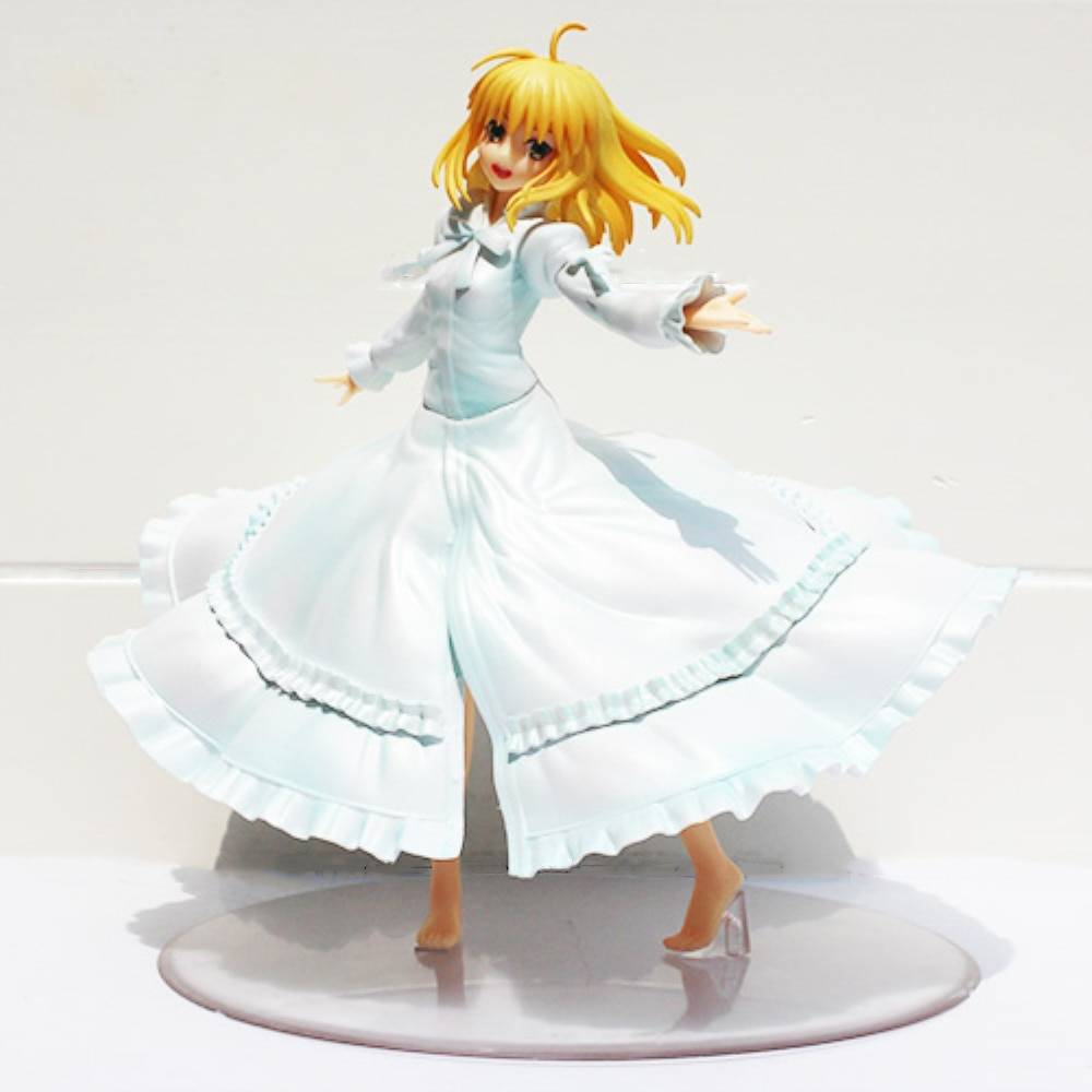 Fate Stay Night Anime Saber Last Episode Action Figure 1 8 Scale Girl Doll Toys Juguetes Pvc Hot Decoration Birthday Gift