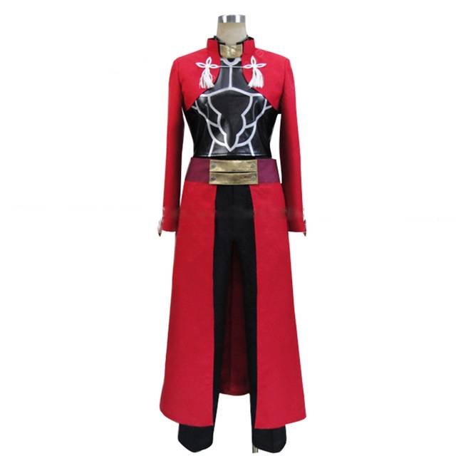 Kisstyle Fashion Fate Zero Stay Night Unlimited Blade Works Archer Uniform Cos Clothing Cosplay Costume Customized Accepted