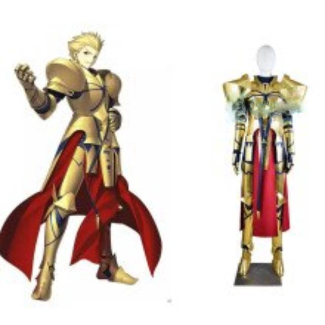 Anime Fate Extella Link Stay Night Caster Gilgamesh Cosplay Costume Halloween Adult Costumes For Women Men Custom Any Size