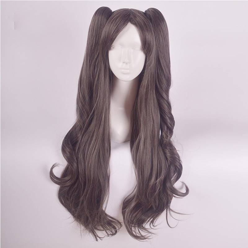 Vevefhuang Tohsaka Rin Cosplay Wig Fate Grand Order Stay Night Hair 60cm Wavy Synthetic Anime