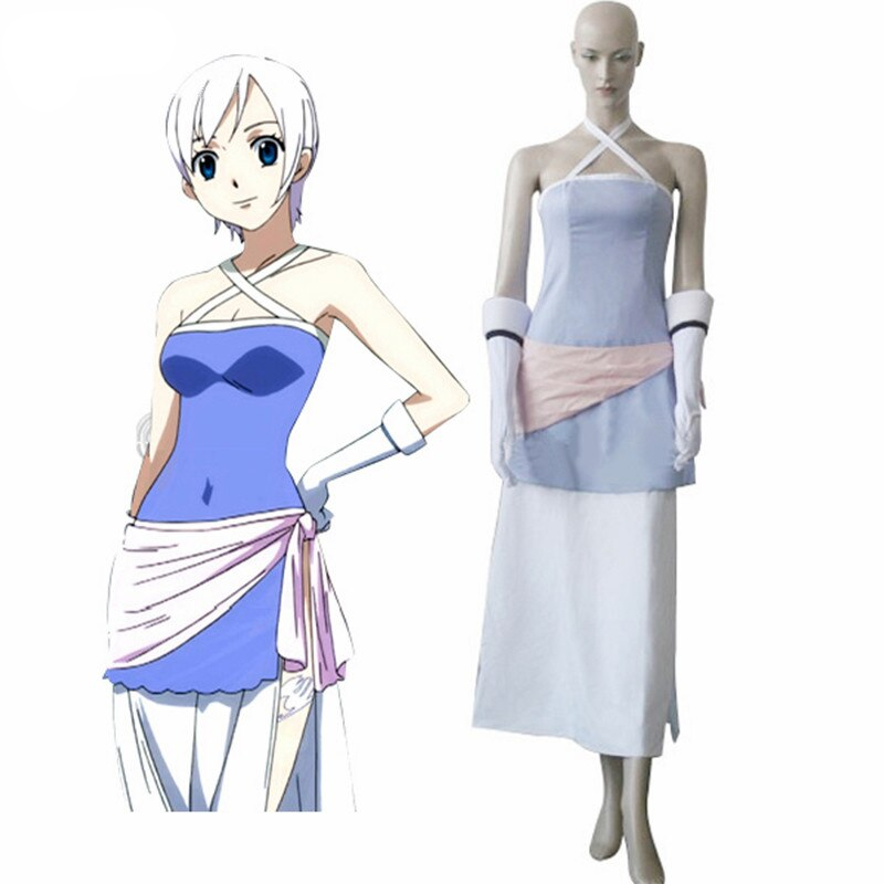Ainclu Fashion Fairy Tail Strauss Musical Party Cosplay Costume For Women Halloween Costumes