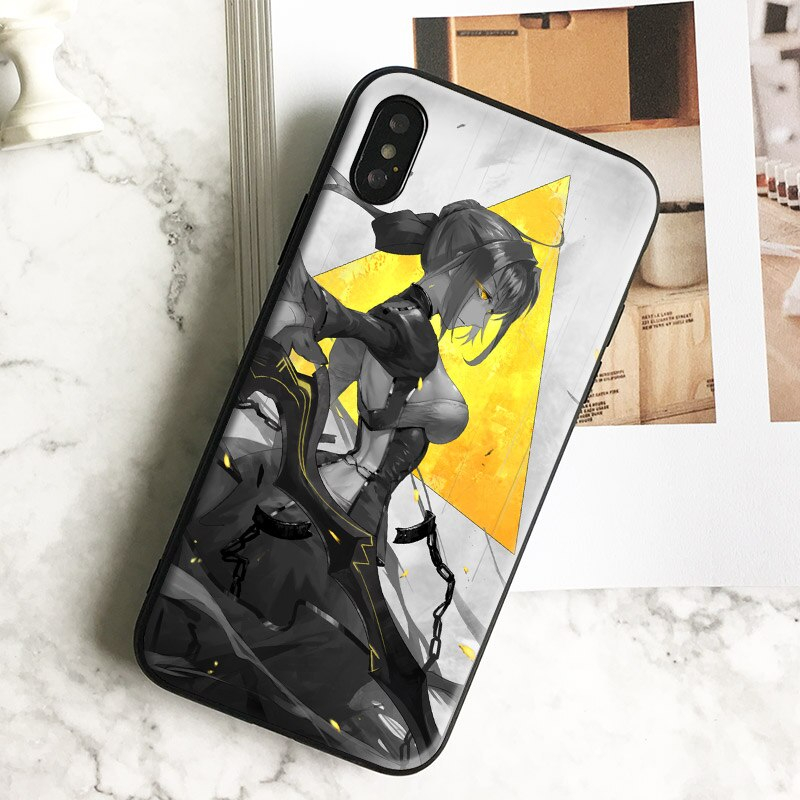 Saber Fate Stay Night Zero Anime Coque Soft Silicone Phone Case Cover Shell For Apple Iphone 5 5s Se 6 6s 7 8 Plus X Xr Xs Max