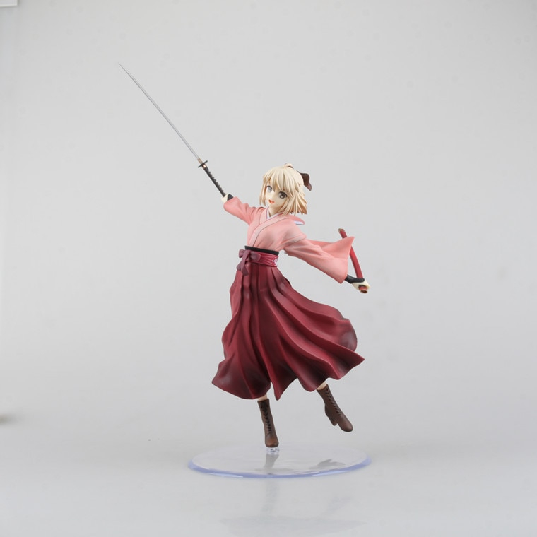 Anime Fate Stay Night 20cm Koha-ace Sakura Saber 1 8 Scale Pre-painted Pvc Action Figure Collectible Model Toy Brinquedos
