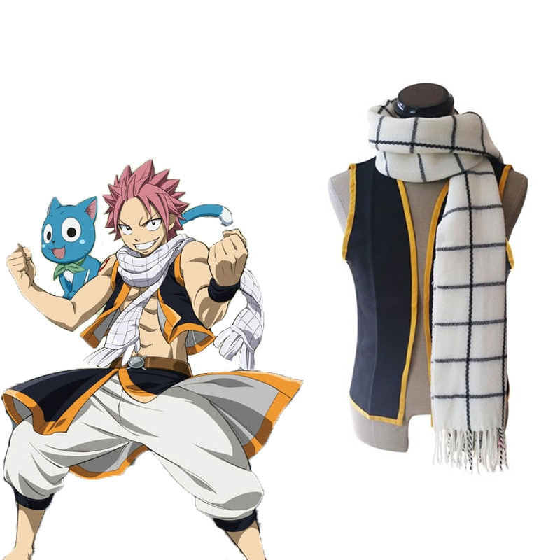 Japanese Anime Fairy Tail Cosplay Costume Etherious Natsu Dragneel Costumes Halloween Carnival Party