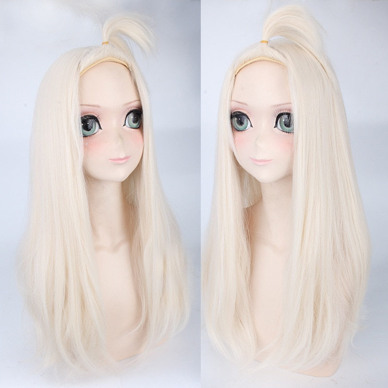 Anime Fairy Tail Mirajane Strauss Wig Cosplay Costume Women Heat Resistant Synthetic Hair Halloween Party Role Play Wigs