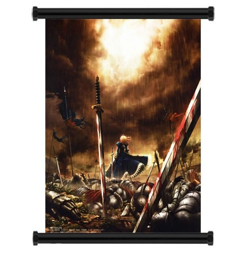 Japanese Cartoon Fate Stay Night Anime Poster Wall Scroll Home Decor Decorative 40x60cm