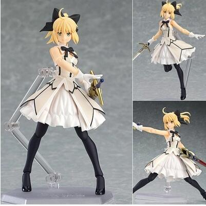 15cm Fate Stay Night Saber Figure Pvc Toys Collection Anime Cartoon Model Collectible For Friend Gift