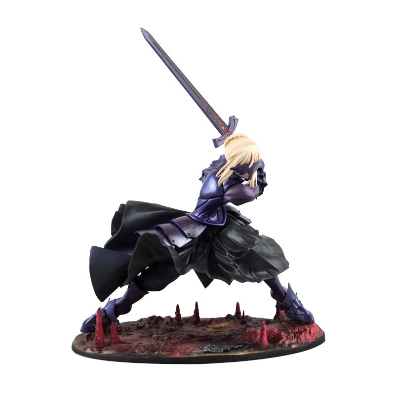 Fate Stay Night Saber Alter 20cm Huke Pvc Action Figure Anime Doll Model Toys Gift