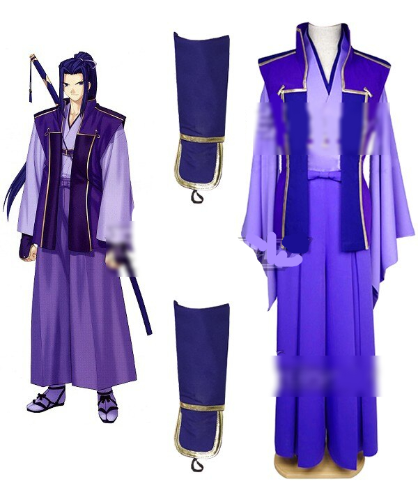 Fate Stay Night Unlimited Blade Works Ubw Sasaki Assassin Sword Cosplay Costume E001