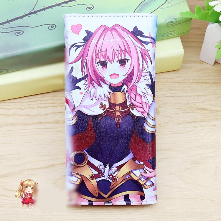 Anime Fate Zero Stay Night Cosplay Cartoon Wallet Long Male And Female Students Fashion Child Birthday Gift